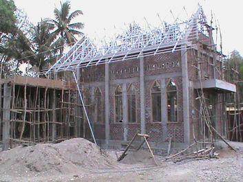 costruzione cappella Atambua 3 risultato