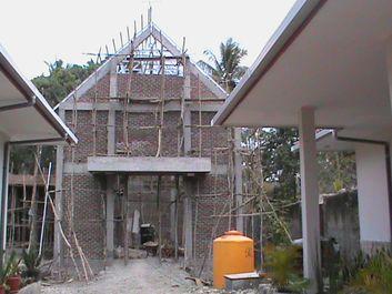 costruzione cappella Atambua 4 risultato